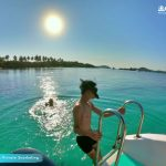 The jade water at Crystal Reef - Phu Quoc snorkeling tour that avoids the crowds